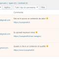 commento di spam